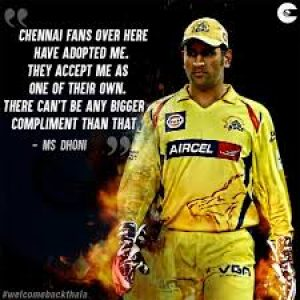 CSK Quotes and Shayaris