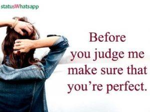 attitude status for girls