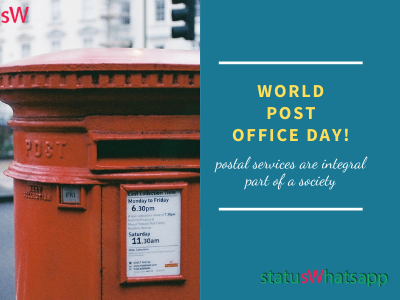 World Post Office Day